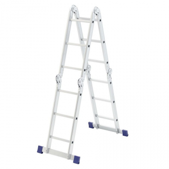 Алюминиевая лестница-трансформер 4х3 Stairs