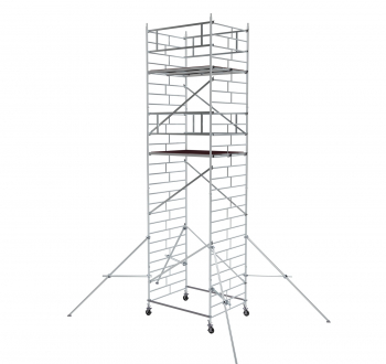 Вышка модульная алюминиевая ВМА 1400/8