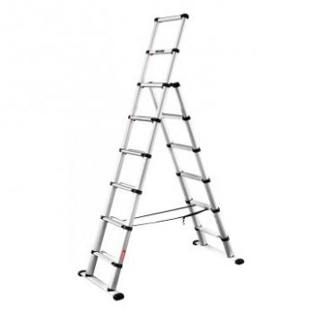 Телескопическая лестница-стремянка TELESTEPS Combi Line 2,3 м