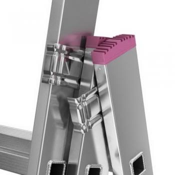 Corda алюминиевая лестница с доп. функцией 3Х7 ступ.