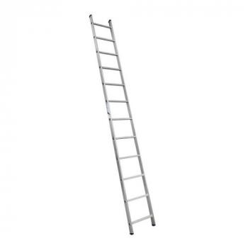 ALUMET Лестница широкая приставная односекционная 12 ступ. (арт. 6112)