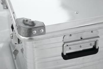 Ящик алюминевый РИФ L140 усиленный с замком