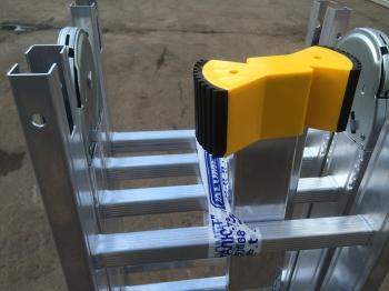 Алюминиевая лестница-трансформер Alumet 4Х3