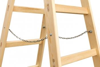 Деревянная стремянка-ходуля Балчуг 2Х10 line (арт.2102L)