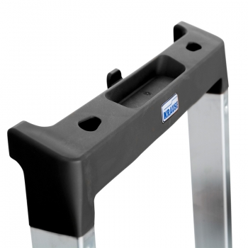 KRAUSE Solidy Cвободностоящая алюминиевая стремянка 4 ступ. (арт. 126221)