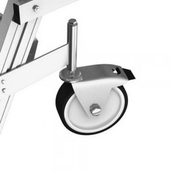 KRAUSE Stabilo Односторонняя передвижная лестница с платформой 5 ступ. (арт. 820150)