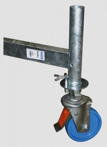 KRAUSE Ролики регулируемые по высоте 150 мм (арт. 914309)