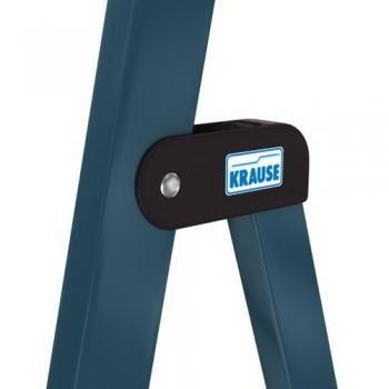 Securo анодированная стремянка с широкими ступенями 125мм. 6 ступ.