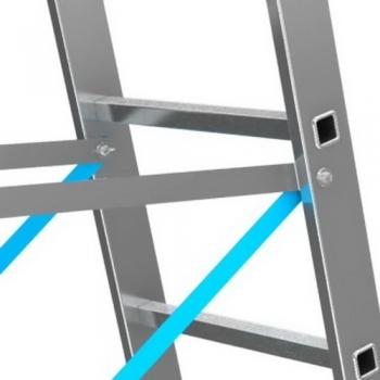 KRAUSE Stabilo Профессиональная 3-секционная лестница с доп.функцией 3Х8 ступ. (арт. 133748)