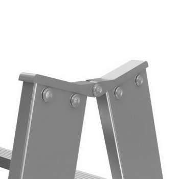 KRAUSE Stabilo Двусторонняя стремянка с перекладинами 2x10 ступ. (арт. 124937)