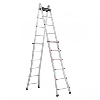 SVELT Scalissima Лестница шарнирная телескопическая 10Х10 (арт. SSCAL0010)
