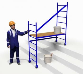 Тура строительная комнатная ТТ 1500-4К