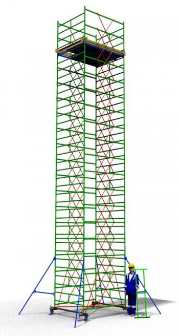 Вышка тура передвижная ТТ 2000РШН(11,30)