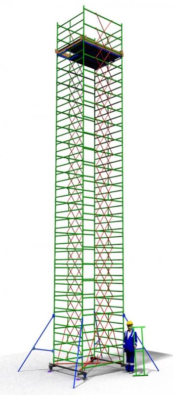 Вышка тура передвижная ТТ 2000РШН(13,70)