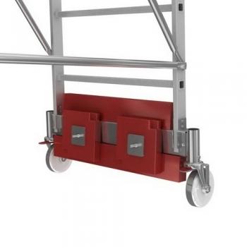 KRAUSE Stabilo Vario Kompakt Лестница с платформой 10 ступ. траверса 1365 (арт. 833167)