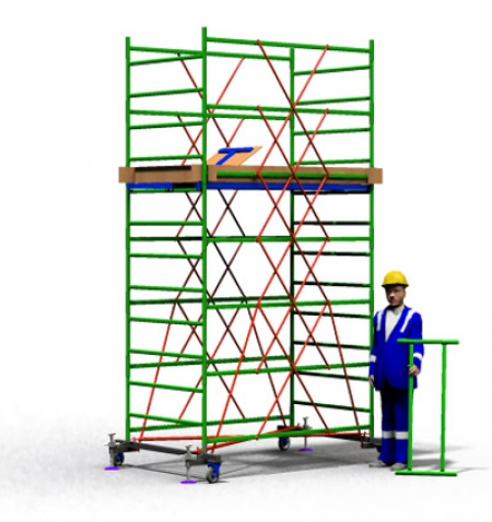 Вышка тура строительная ТТ2000РН (4,10)