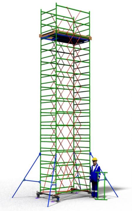 Вышка тура строительная ТТ2000РН (8,90)