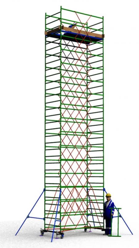 Вышка тура строительная ТТ2400РН (10,10)
