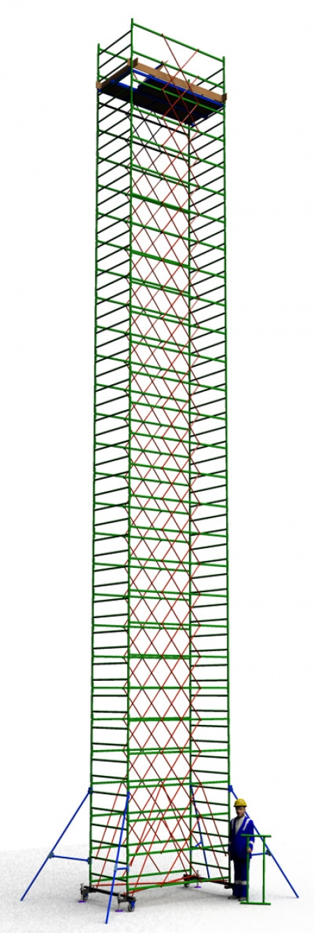 Вышка тура строительная ТТ2400РН (17,30)