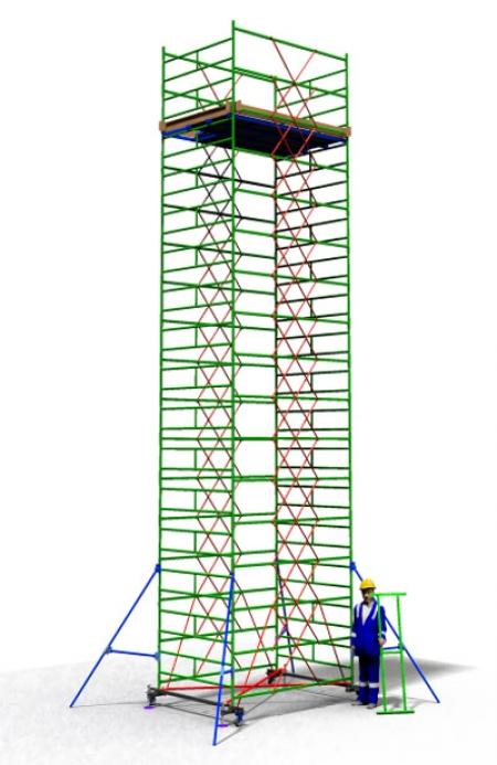 Вышка тура строительная ТТ2400РШН (10,10)