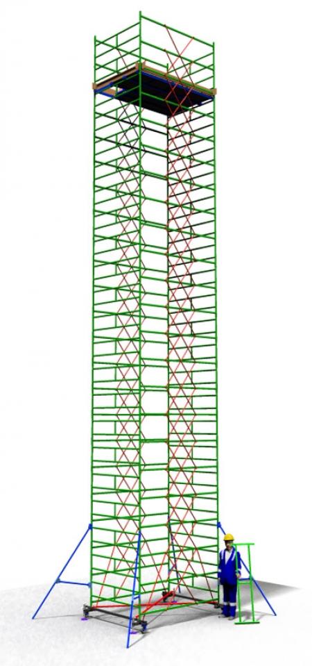 Вышка тура строительная ТТ2400РШН (13,70)