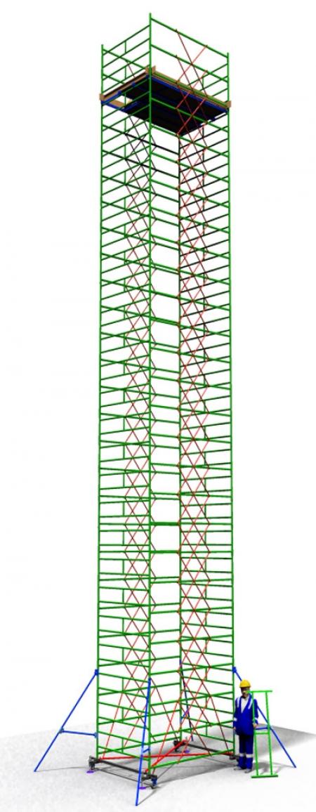 Вышка тура строительная ТТ2400РШН (16,10)