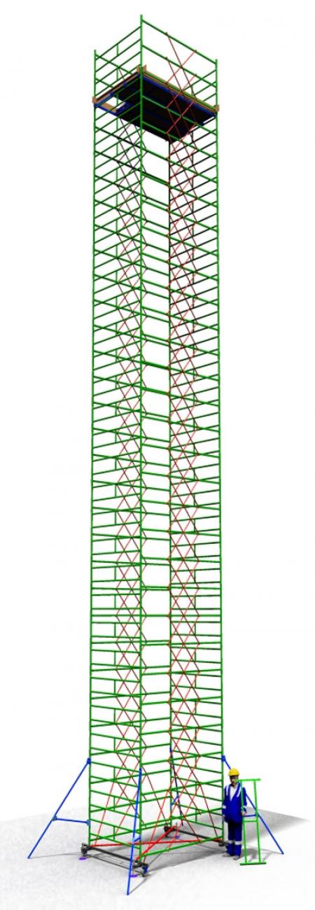 Вышка тура строительная ТТ2400РШН (18,50)